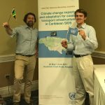 "Dr. Becker and Bobby Witkop (MAMA 2018) attend workshops on ""Climate change impacts on coastal transport infrastructure in the Caribbean: Enhancing the adaptive capacity of Small Island Developing States (SIDS)"""