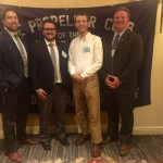 Kretsch and Romelzcyk awarded at 2015 Propeller Club Awards Meeting