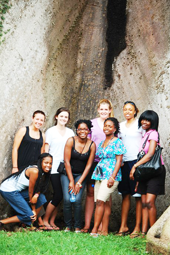 group of students in Ghana