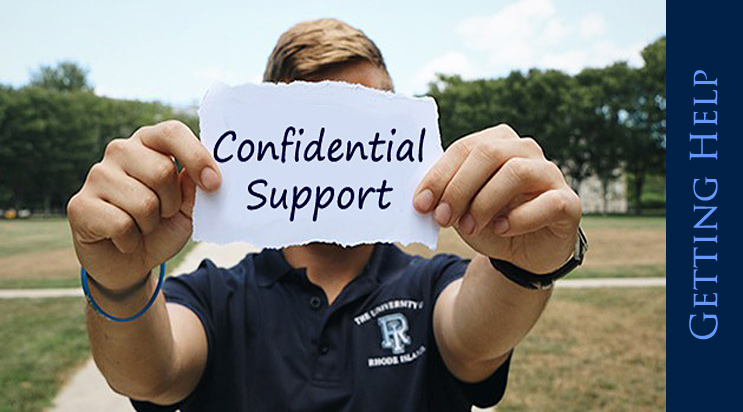 URI Confidential Support - Getting Help