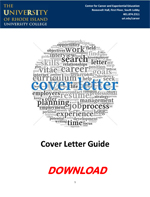 cover letter guide pdf download