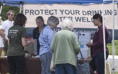 URI students travel the state to educate well owners about how to protect drinking water