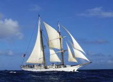 CELS student sails to remote Pacific islands to study effect of climate change on coral reefs