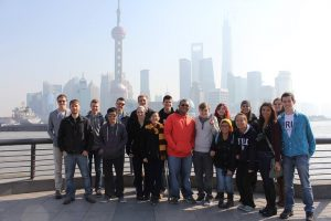 Flagship Students in Shanghai