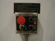 Controls on the wall