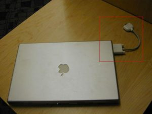 Mac with Adapter