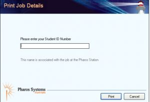 Enter Student ID Number