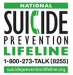 National Suicide Prevention Lifeline 1-800-273-TALK(8255) | suicidepreventionlifeline.org