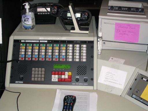 URI Dispatch Zetron Console