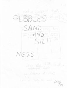 Pebbles, Sand, and Silt Sample Notebook