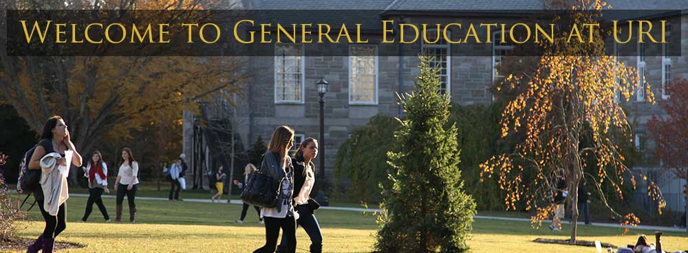 Welcome to General Education at URI