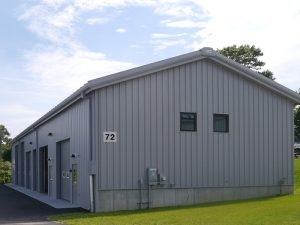 New 4,300 square-foot Marine Logistics Support Facility on Pier Road.