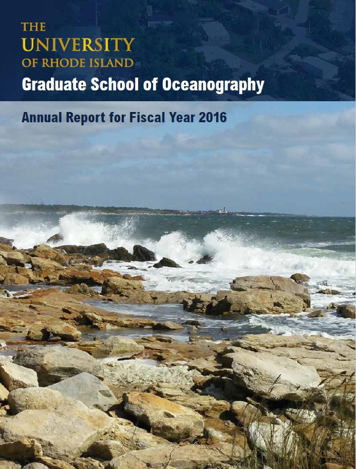 GSO Annual Report - Fiscal Year 2016