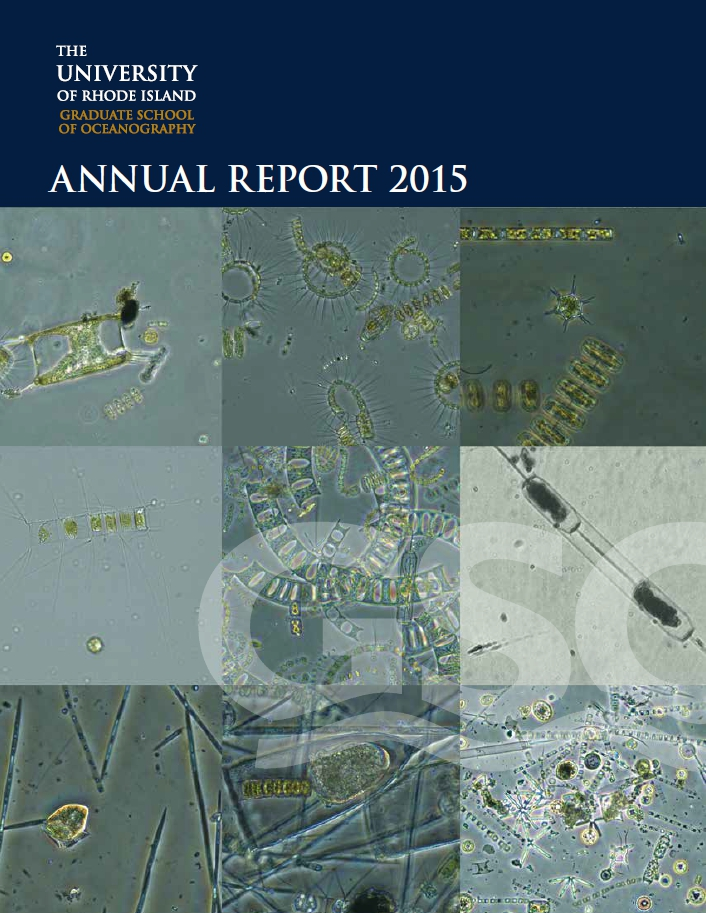 GSO Annual Report - Fiscal Year 2015
