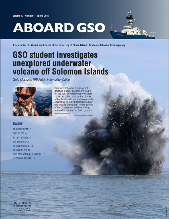 Aboard GSO - Spring 2015
