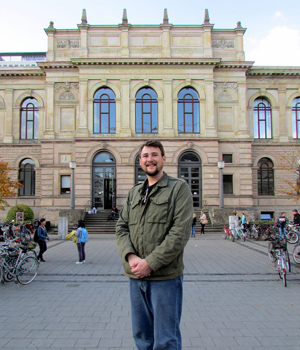 Anthony Ragusa in Germany