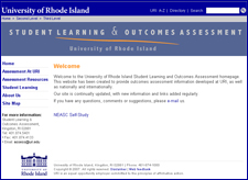 New Assessment Website