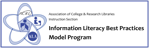 Information Literacy Best Practices Model Program Logo