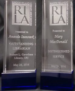 RILA Awards Given to Amanda Izenstark & Mary C. MacDonald