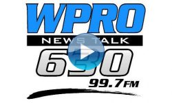 WPRO-AM with play button