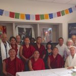 Tibetan Monks Visit Center