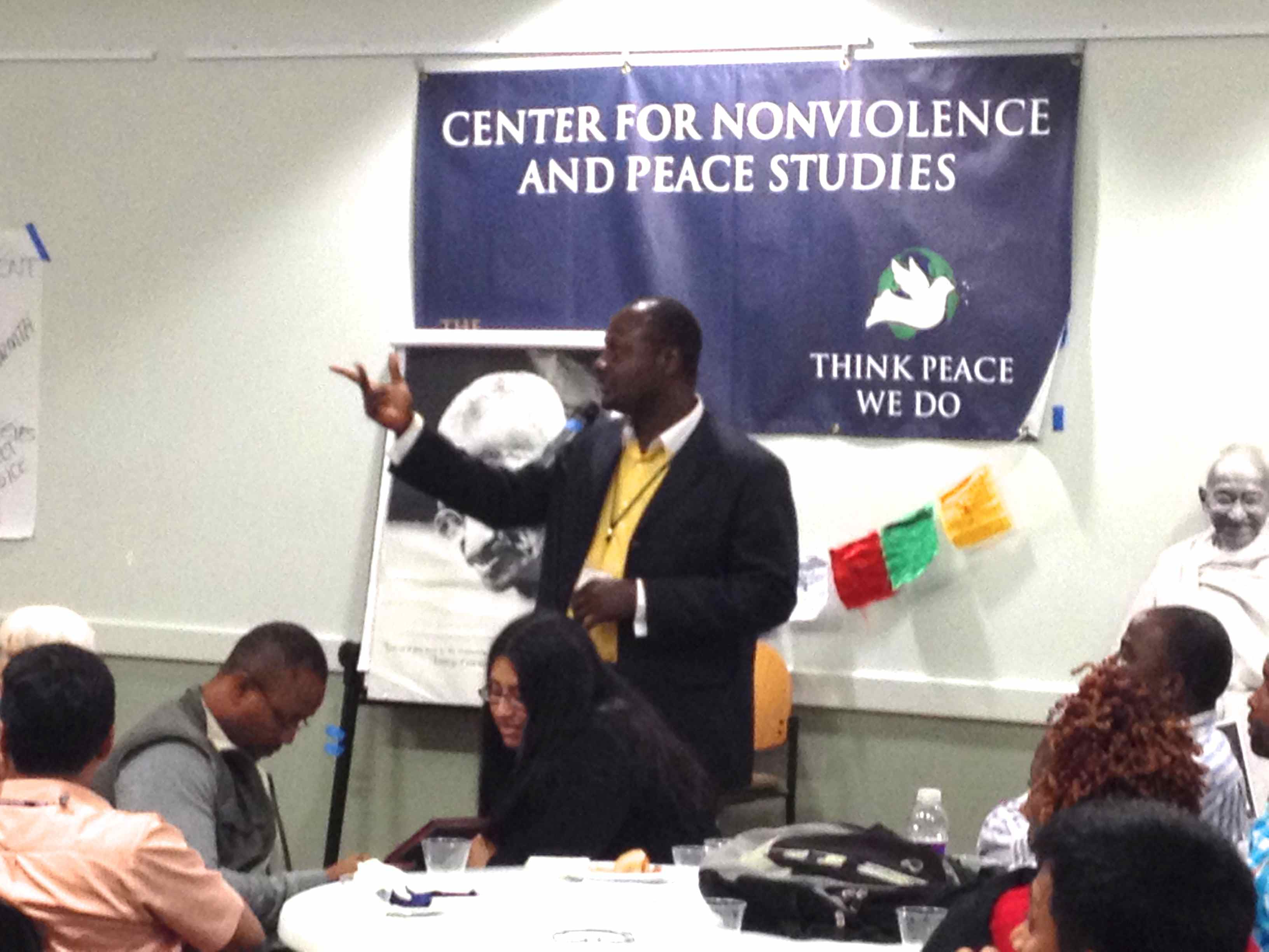 Small essay on world peace and nonviolence