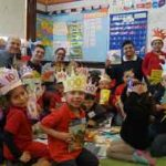 Central Falls Kindergarteners Excited to Receive Books!