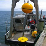 Deployment of a Wave Energy Harvesting Buoy