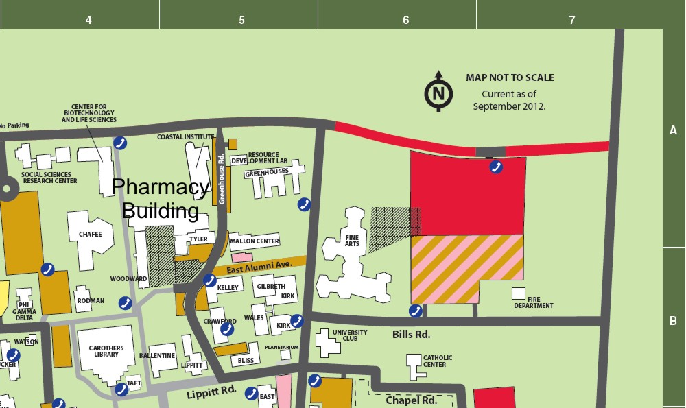 Visit Us College Of Pharmacy - College of pharmacy us map