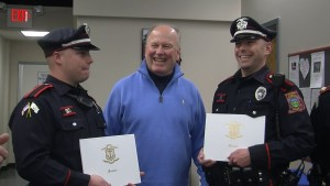 Officers Thanked