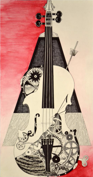 Clockwork Violin by Kira Wencek, from the Spring 2016 issue of Ether(bound)