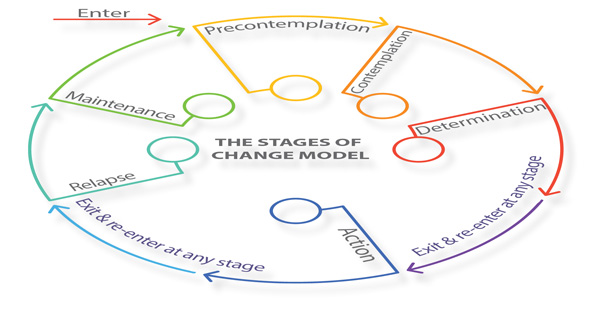 The Transtheoretical Model (TTM) chart