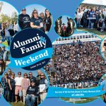 A montage of photos from Family Weekend.