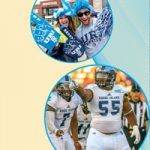 Pictures of Whoopi Goldberg, URI Football players, Rhody