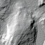 Views of an area on the Canterbury/Lisbon border in Connecticut with Lidar data.