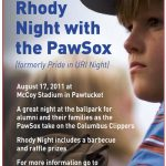 URI Night with the PawSox