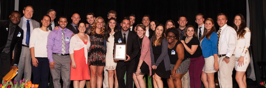Student Organization Leadership Consultants, 2015 Team Excellence Award Recipients
