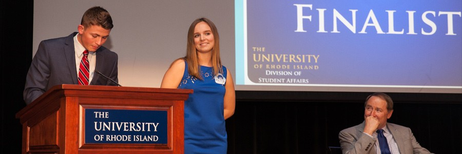 Sarah Moffitt,  2015 Student Leadership Award Recipient