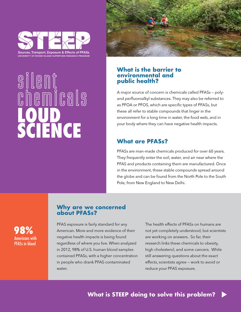 More Evidence Chemicals Linked To >> Silent Chemicals Loud Science Steep