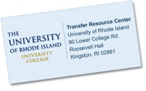 Transferring Credits to URI | Transfer Resource Center