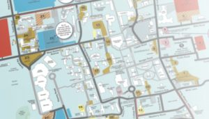 uri map of campus Parking Transportation And Parking uri map of campus