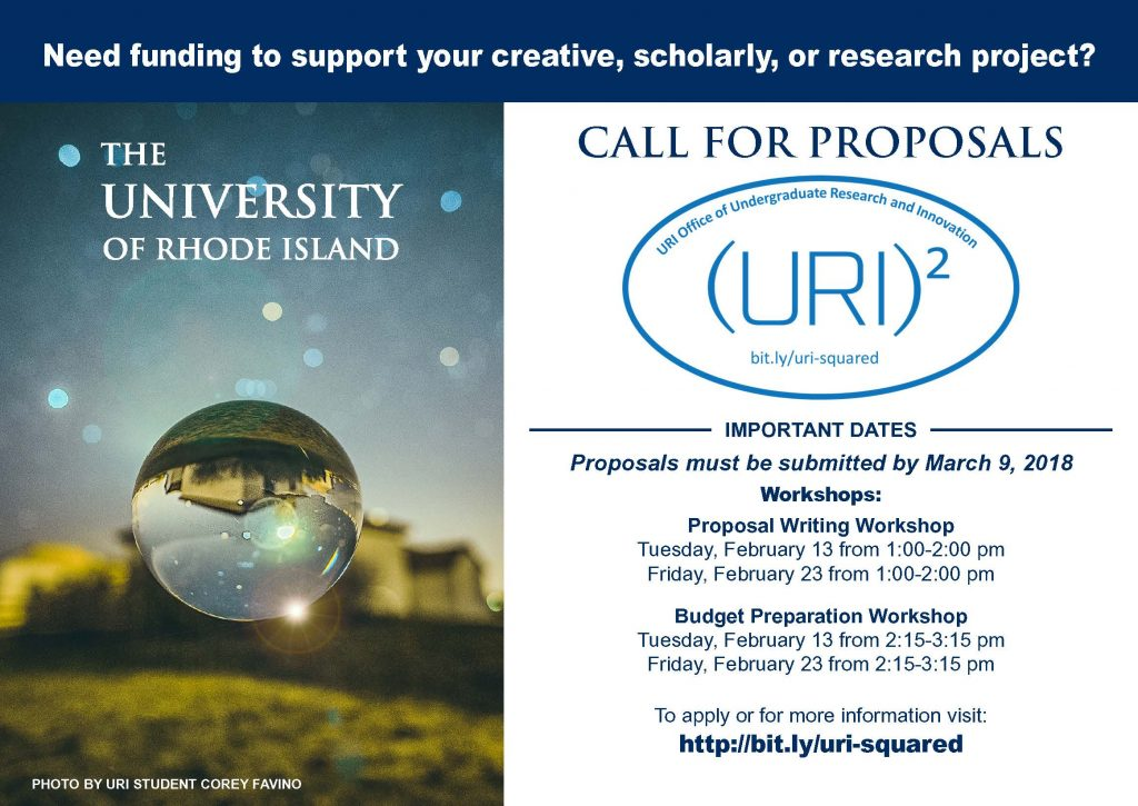 Postcard for Call for Proposals