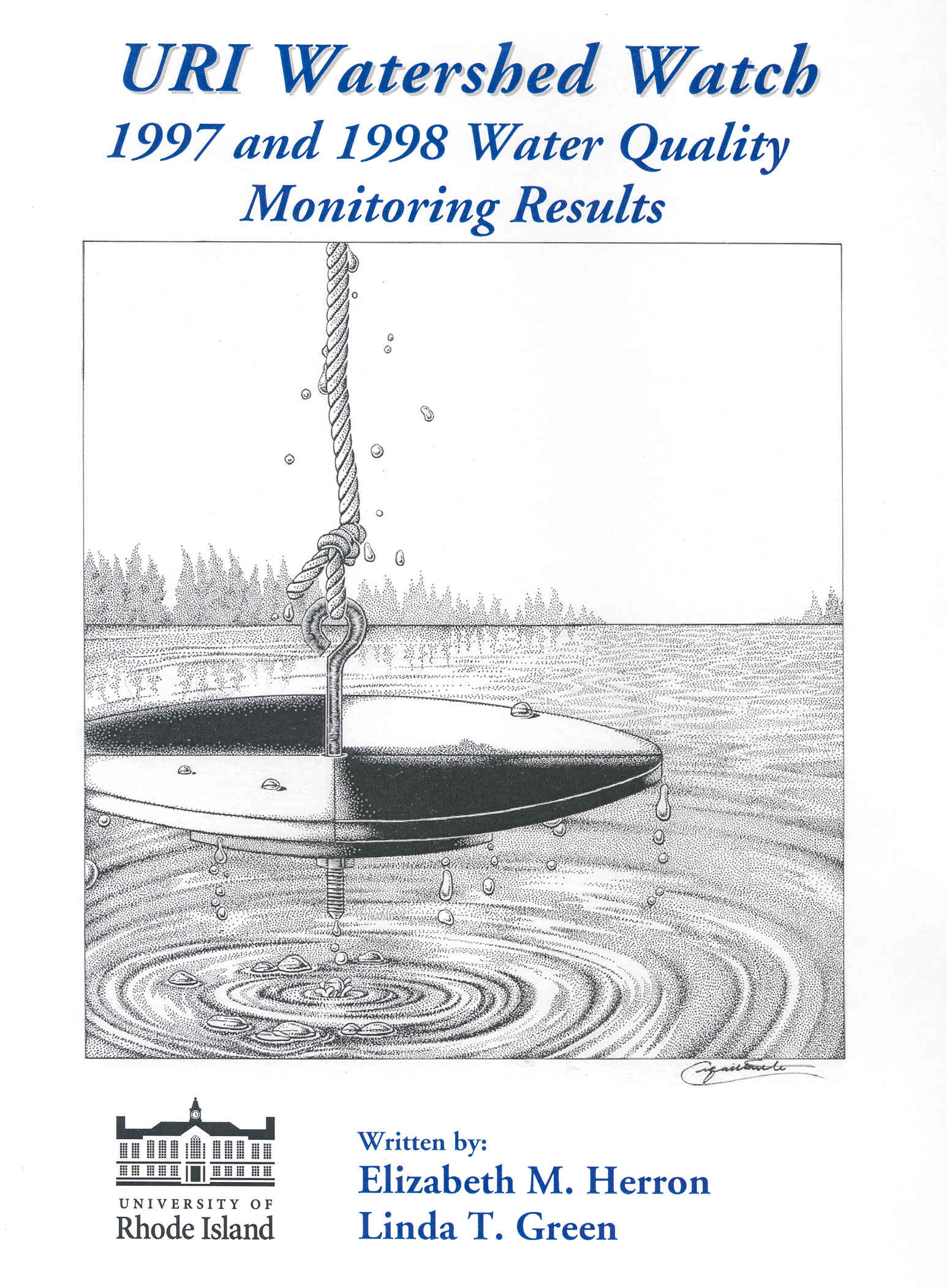 Rhode Island Water Quality Monitoring Chlorophyll