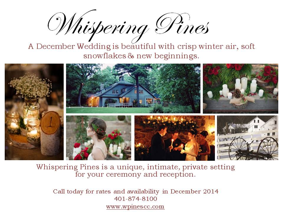 The Perfect Place for a Winter Wedding