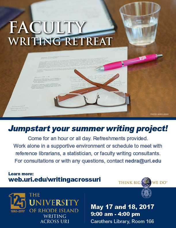 Faculty Writing Retreat_please share